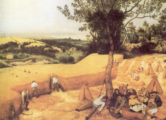 Peter Bruegel, A Ceifa do Feno, c. 1565