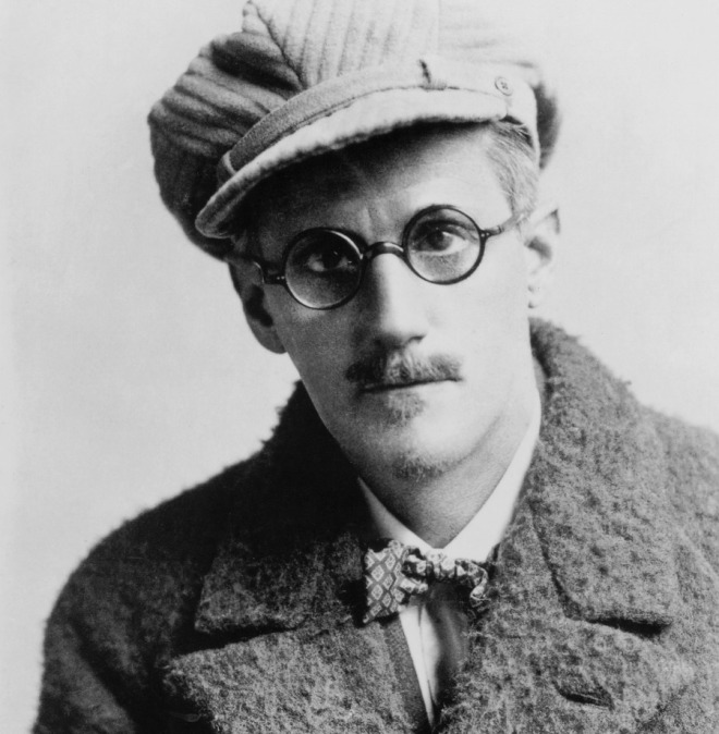 James Joyce portrait